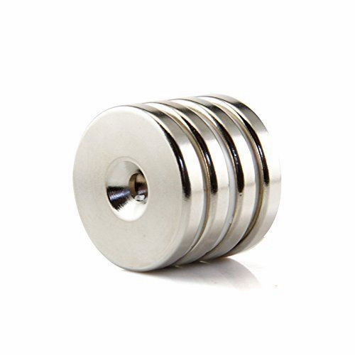 N50 Super Strong Round Ring Magnets 20mm